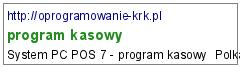 program kasowy