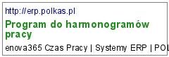 Program do harmonogramów pracy